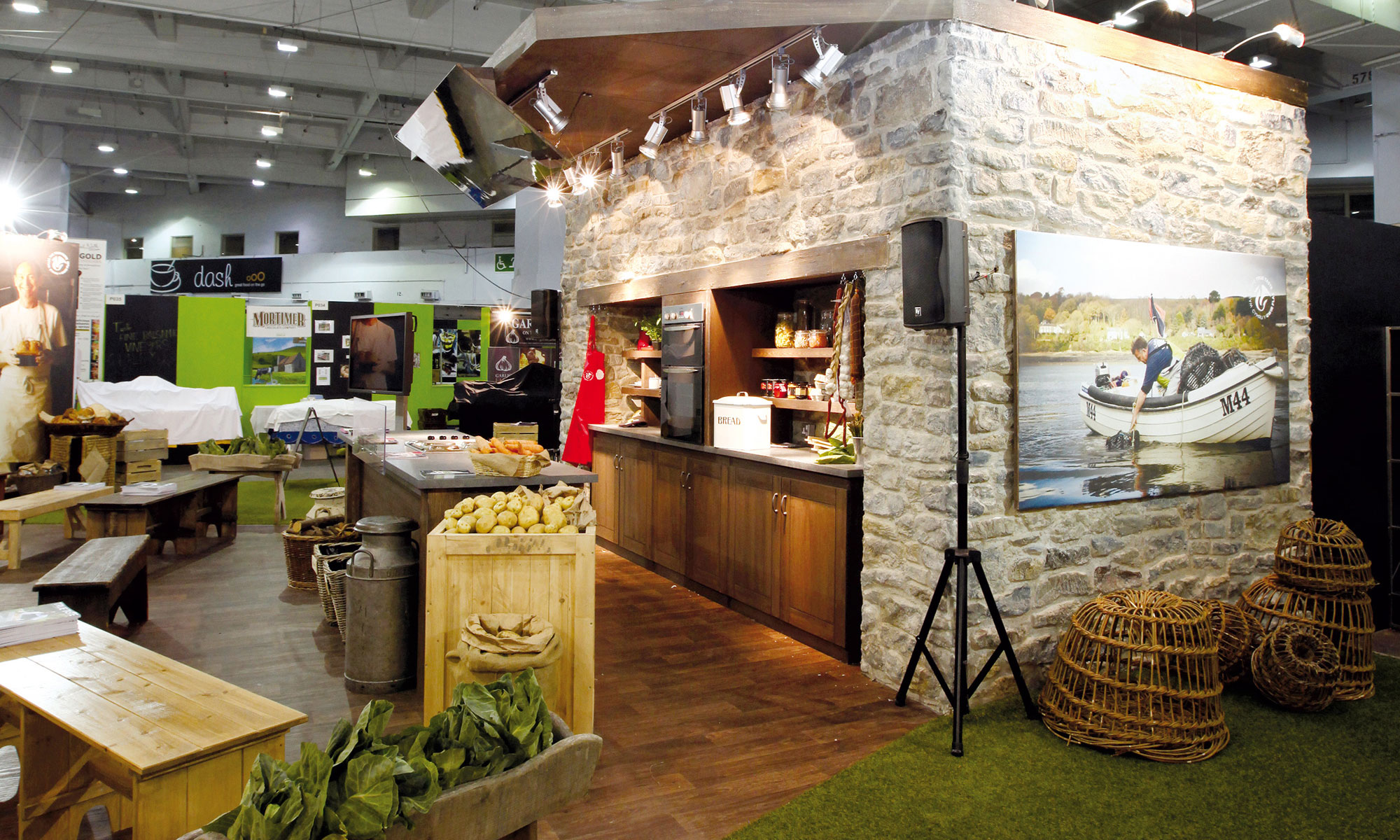 Welsh Government Real Food-Festival Exhibition Design