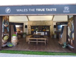 Welsh Government Taste of London Exhibition Design