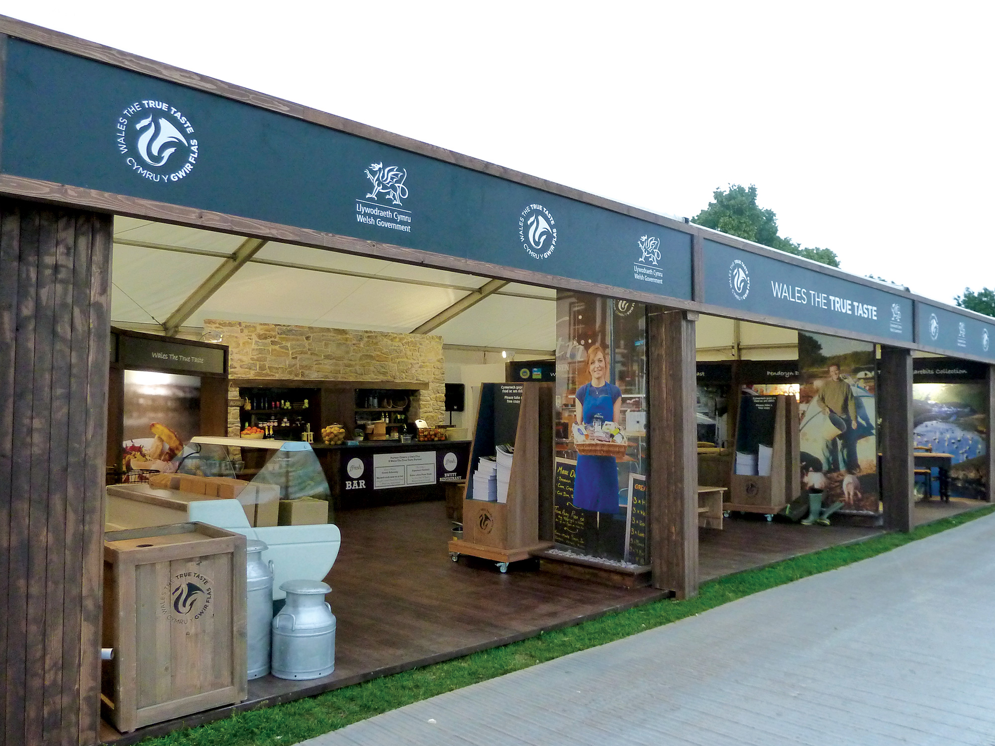 D Exhibition Design : Welsh government taste of london exhibition design fernleigh
