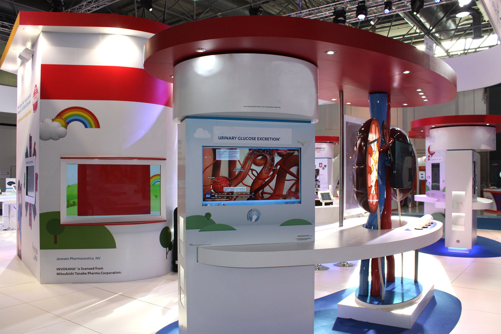Pharmaceutical Exhibition Stand Design : Exhibition stand design johnson and johnson fernleigh design