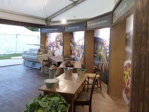 Welsh Government Taste of London Exhibition Design