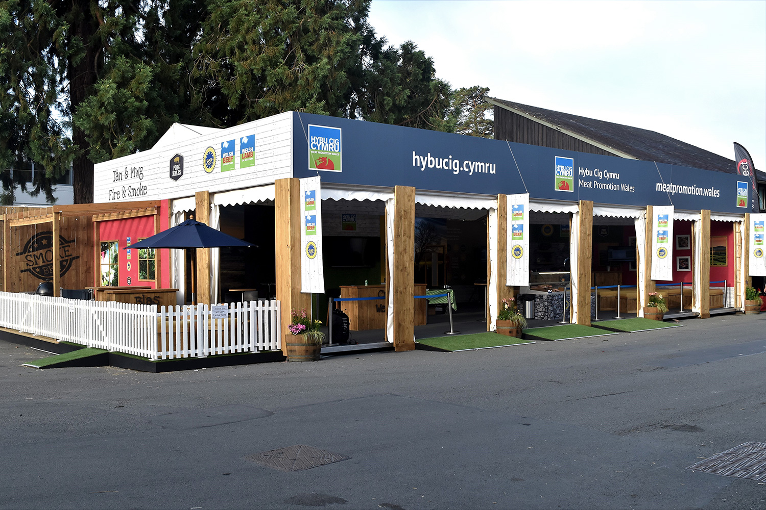 Royal Welsh Show Exhibition Design