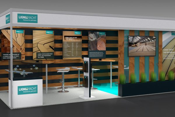 Lignia Exhibition Stand Design