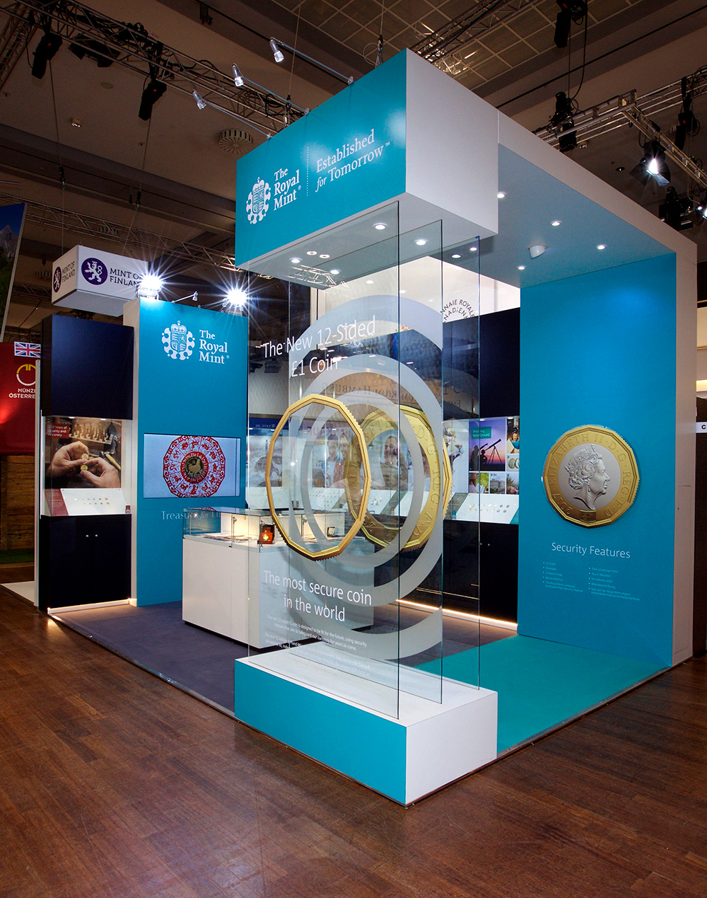 Royal Mint Exhibition Stand Design