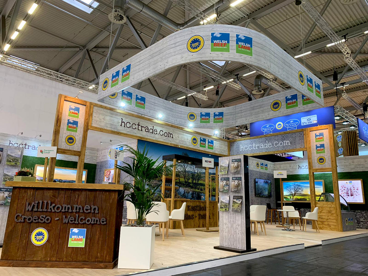 HCC Exhibition Stand Design