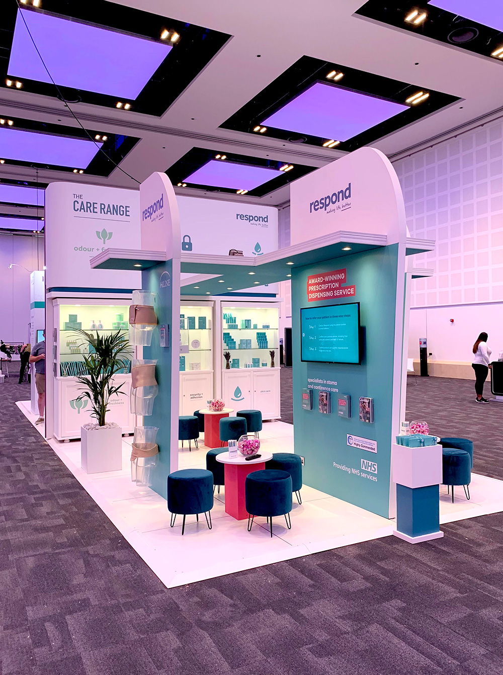 Pelican Respond Exhibition Stand Design